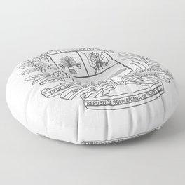 Escudo Venezuela - Trinchera Creativa Floor Pillow