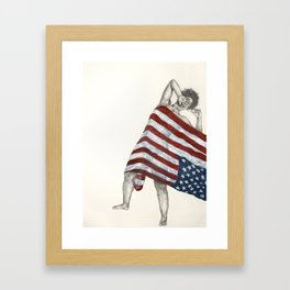 American Territory Framed Art Print