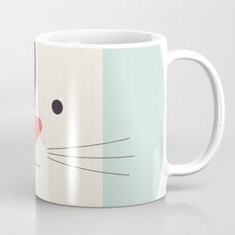 Cartoon Abstract Cat Coffee Mug