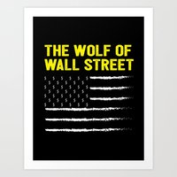 The Wolf of Wall Street Movie Poster Art Print