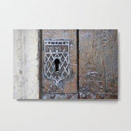 Keyhole Oxford Metal Print