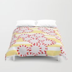 moves in red and yellow parts Duvet Cover