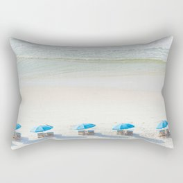 Mornings at the Beach Rectangular Pillow