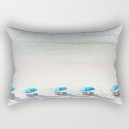 Mornings at the Beach Rectangular Pillow