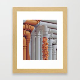 Drain Framed Art Print