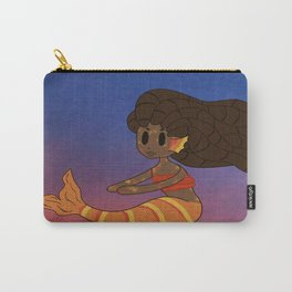 Tropical Mermaid Carry-All Pouch