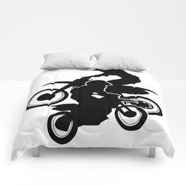 Motocross Dirt Bikes Off-road Motorcycle Racing Comforters