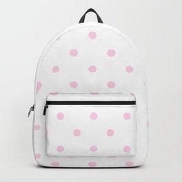 Polka Dots Pattern: Pink Backpack