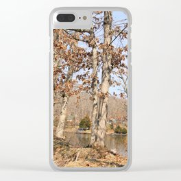 Hidden Lake Shore - Shelbyville, IL Clear iPhone Case