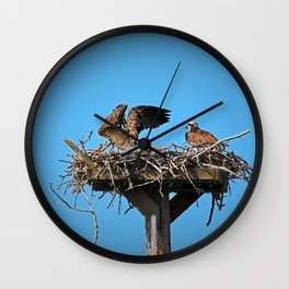 When Your Spouse is Being Dramatic II Wall Clock