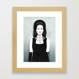 Dark Paradise | LDR VI Framed Art Print