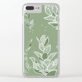 Succulent Sunshine- Beauty Flourishes in the Sun Clear iPhone Case