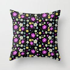 Candy Primrose Throw Pillow