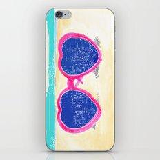 Sunglasses on beach iPhone & iPod Skin