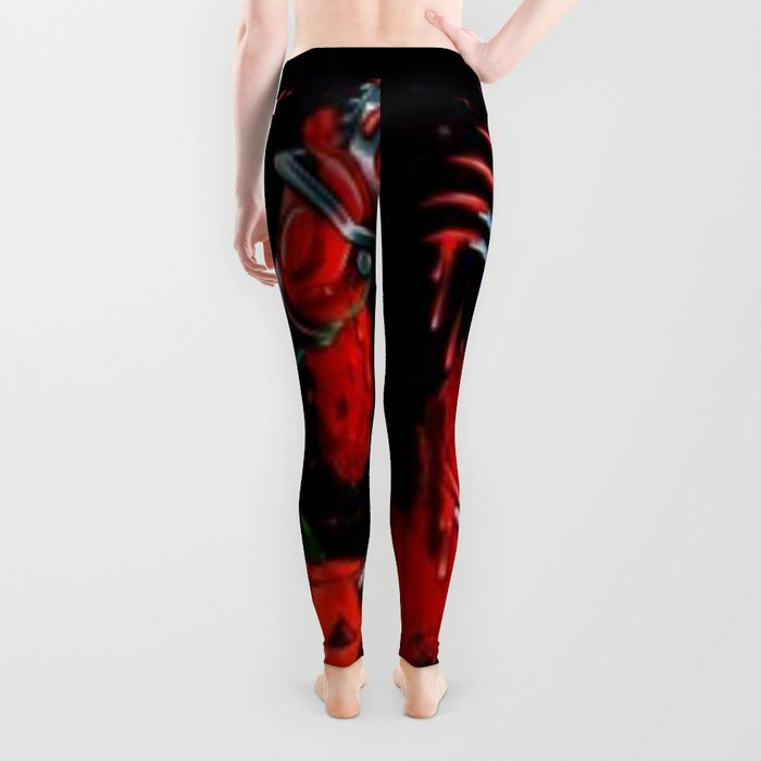 Freddy Of All Faces Leggings
