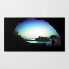 The Cave's Eye Canvas Print