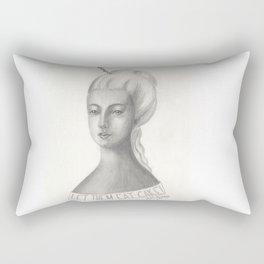 "Queen Marie ""The Cake"" Antoinette Rectangular Pillow"