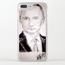 Putin Clear iPhone Case