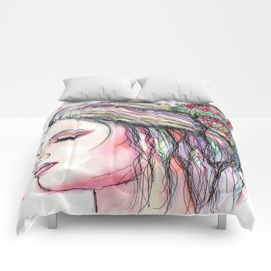 desert flower Comforters