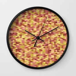 Pointy-Canyon colorway Wall Clock