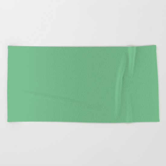 Island Green Beach Towel