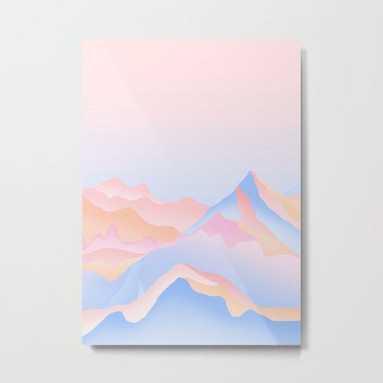 Mount Metal Print