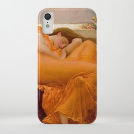 FLAMING JUNE - FREDERIC LEIGHTON iPhone Case