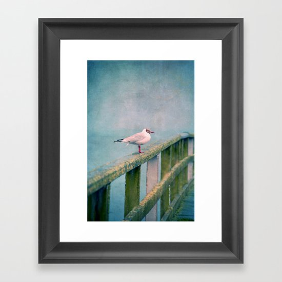 Hy :-) Framed Art Print