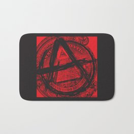 The Great (Anarchy) Seal Bath Mat