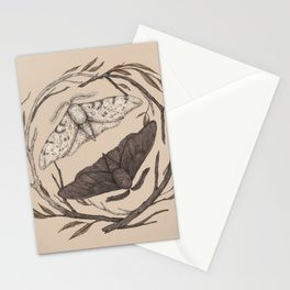 Peppered Moths Stationery Cards