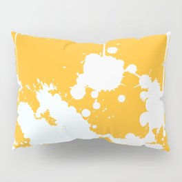 Abstract Paint Splashes Pillow Sham