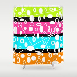 Get your GLO on! Shower Curtain