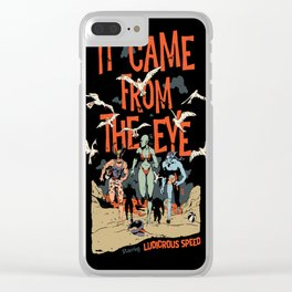 Pius Bak - It Came From the Eye Clear iPhone Case