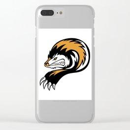 Detroit Honey Badgers - 2017 Logo Clear iPhone Case