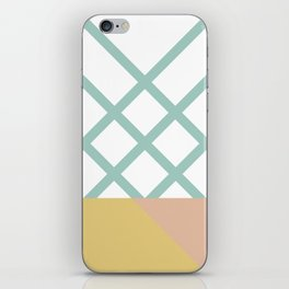 DREAM CATCHERS // Green mountains iPhone Skin