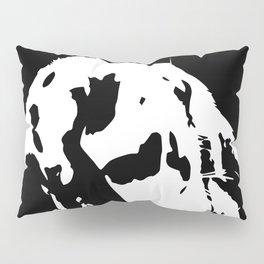 Black & White English Lop Pillow Sham