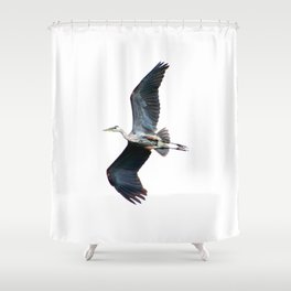 Showing some leg Shower Curtain