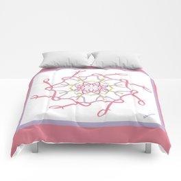 Lullaby Mandala - Pink Lavender Comforters