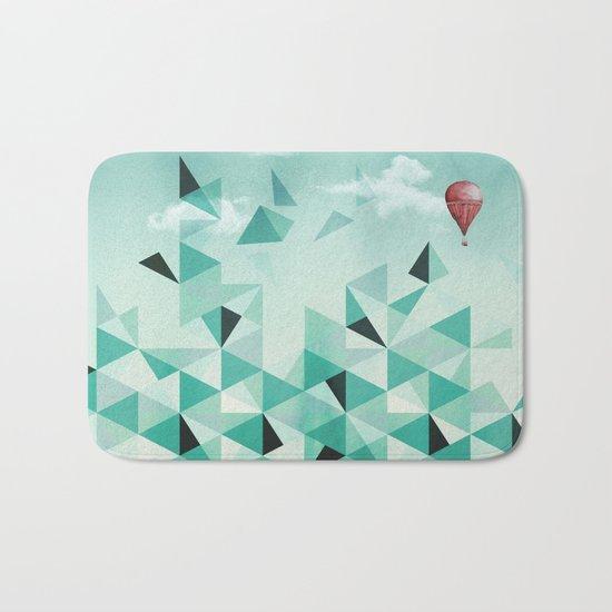 Emerald City (Blue Sky Version) Bath Mat