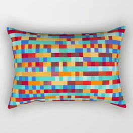 Bach Invention (Fire and Iceberg Colours) Rectangular Pillow