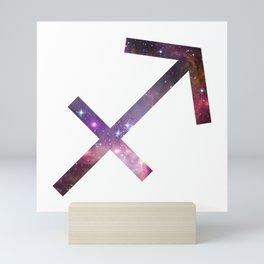 Sagittarius Zodiac Symbol Mini Art Print
