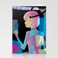 sci fi Stationery Cards featuring Sci-Fi by Scotty6000