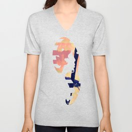 Tempest Island (Warmer Version) Unisex V-Neck