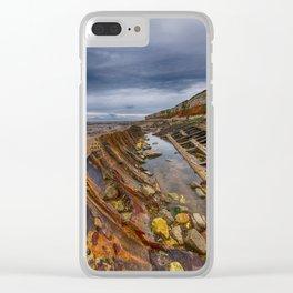 Hunstanton shipwreck Clear iPhone Case