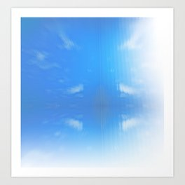 Send Me Sky High Art Print