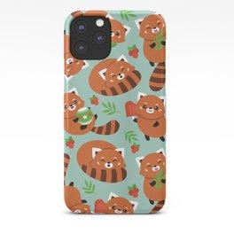 Happy Red Panda iPhone Case