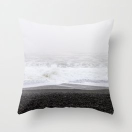 Along the Lost Coast Throw Pillow