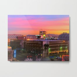 Another day in #DTLV Metal Print