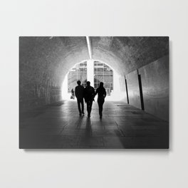 Tunnel Visions Metal Print
