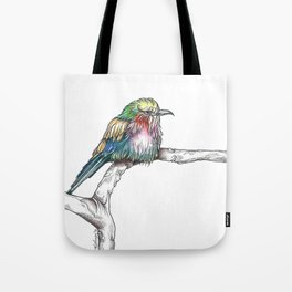Mr. Grumpypants Rollerbird Tote Bag